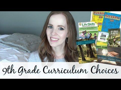 HIGH SCHOOL HOMESCHOOL!   Homeschool Curriculum Choices For 9th Grade 2018-2019