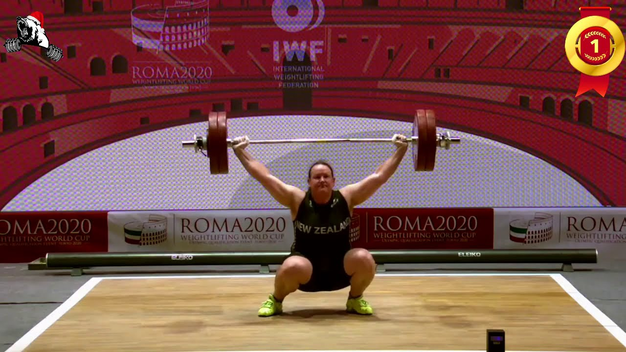 'Hard enough lifting a barbell:' Laurel Hubbard would rather not ...