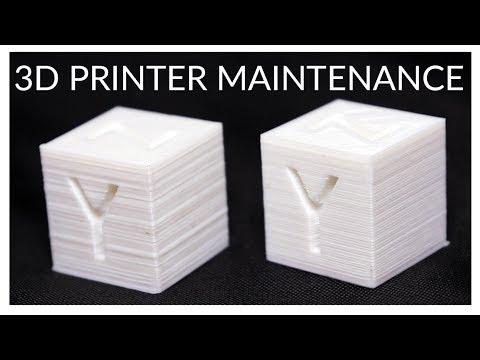 Mandatory Maintenance for your 3D Printer