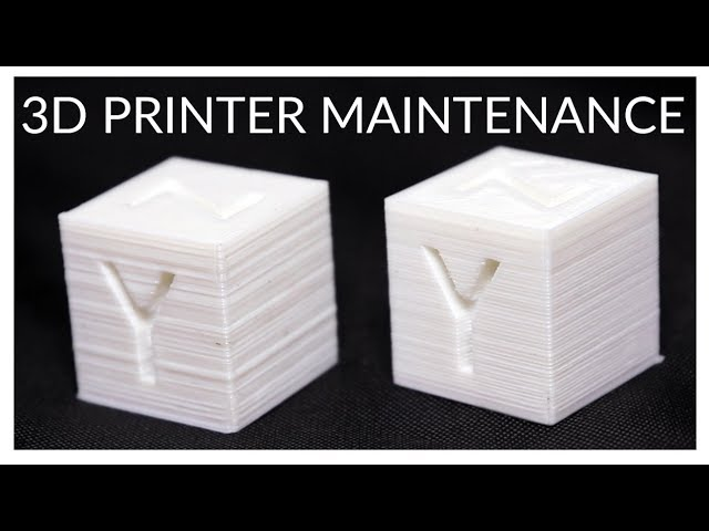 Mandatory Maintenance for your 3D Printer