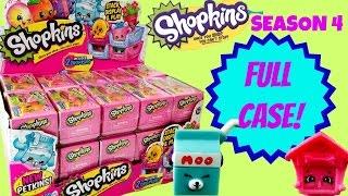 SHOPKINS SEASON 4 FULL CASE   30 Blind Basket Crates   Ultra Rare Petkins
