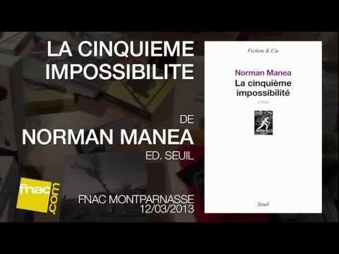 Vidéo de Norman Manea