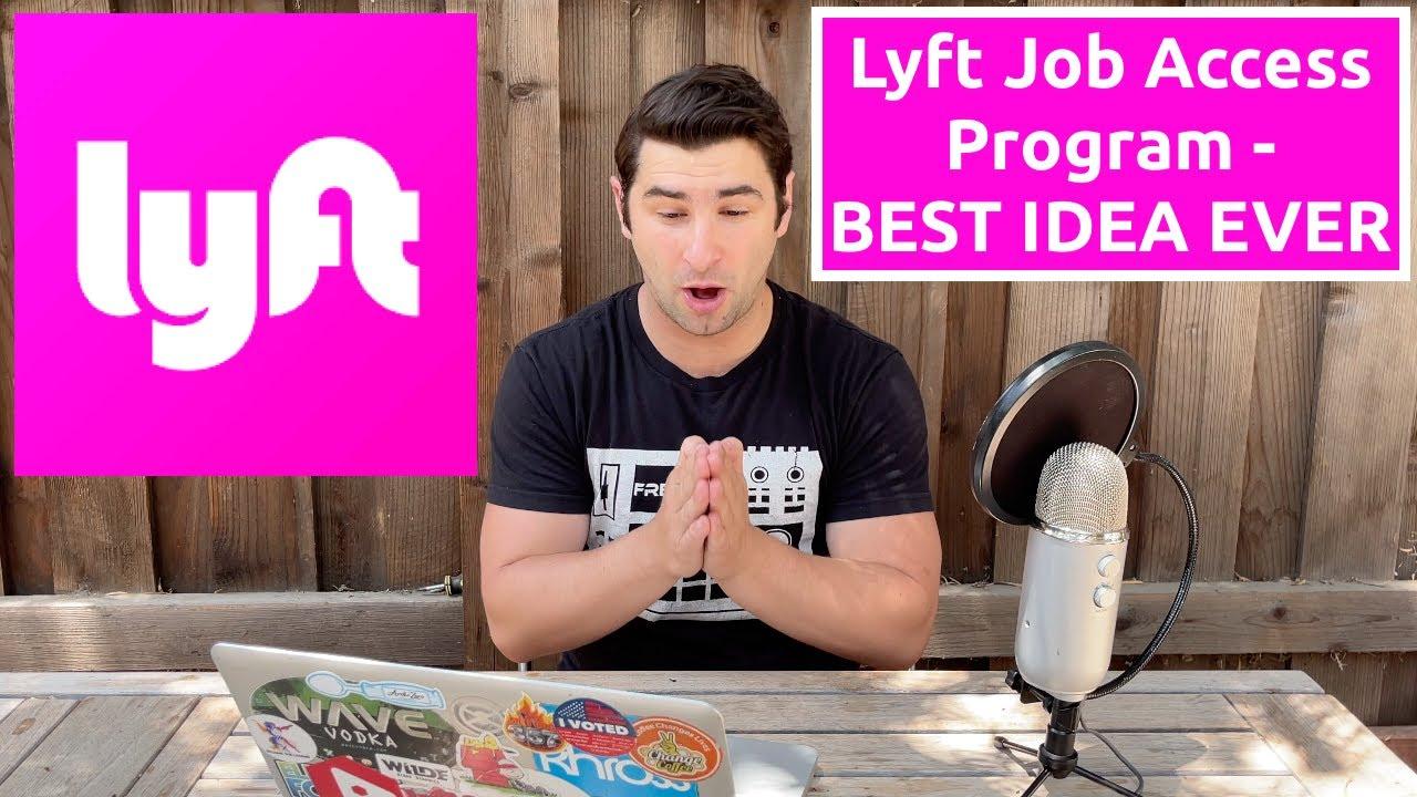Lyft Job Access Program  The LyftUp Program is AMAZING FREE RIDES