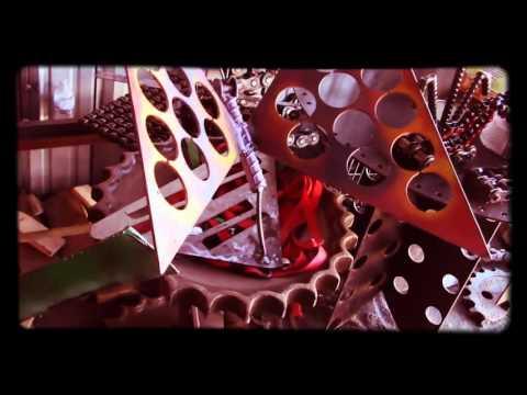 Scrap Metal Yard art Scrap Metal by Recycled Salvage Design