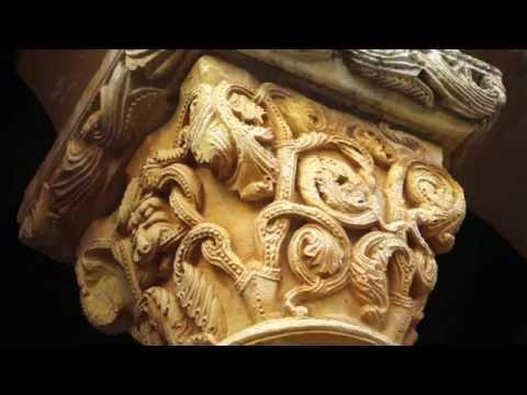 Fotos de: Burgos - Románico - Rebolledo de la Torre Ig. de S. Julian y Sta.Basilisa (capiteles)