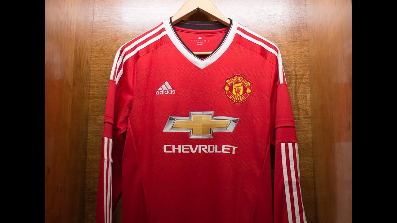 manchester united adidas 2015 16 home jersey review youtube manchester united adidas 2015 16 home jersey review