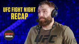 Michael Chiesa talks Colby Covington callout after beating Neil Magny | UFC Fight Night Post Show