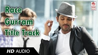 Race Gurram Full Songs | Race Gurram Title Track | Race Gurram Audio Songs  Official