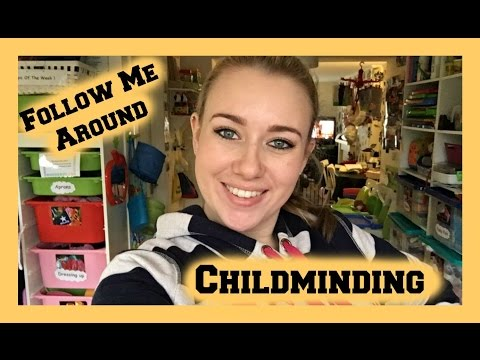 Follow Me Around - Childminding - In Home Child Care
