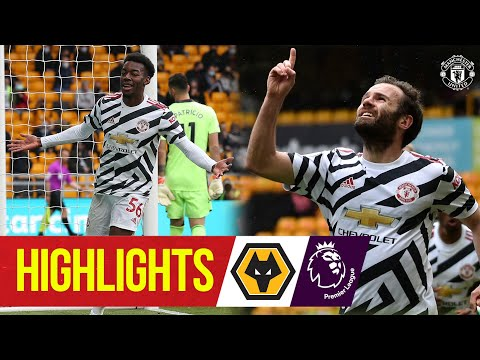 Elanga & Mata seal win to confirm unbeaten away record | Wolves 1-2 Manchester United
