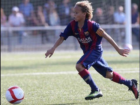 Xavi Simons ● Fantastic Talent ● FC Barcelona 2015