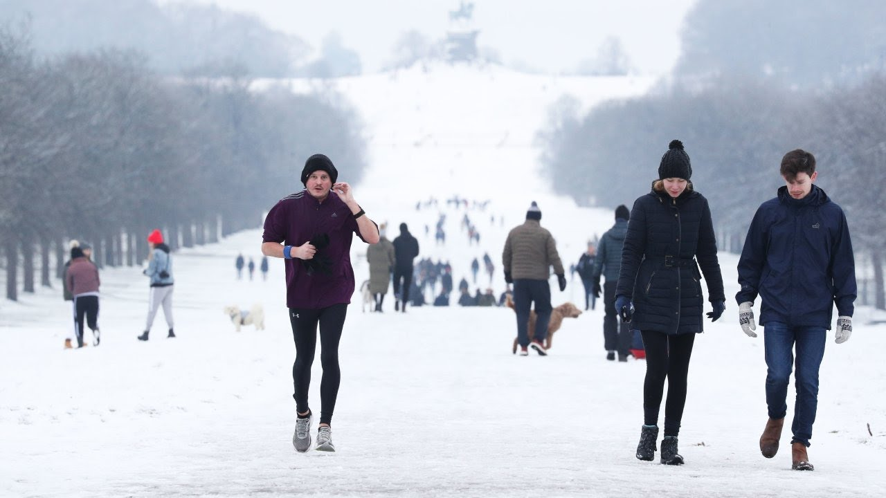 UK enjoys Blankets of Snow ahead of Wet Weather returning