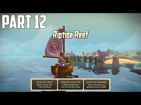 Oceanhorn: Monster of Uncharted Seas - 100% Walkthrough Part 12 [PS4] –  Riptide Reef