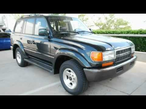 preowned 1994 toyota land cruiser plano tx youtube. Black Bedroom Furniture Sets. Home Design Ideas