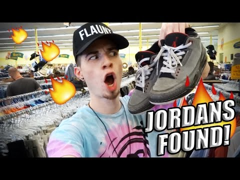 Trip to the Thrift #80 Jordan 3's, Jordan 1's, and Vintage Snapbacks Found!