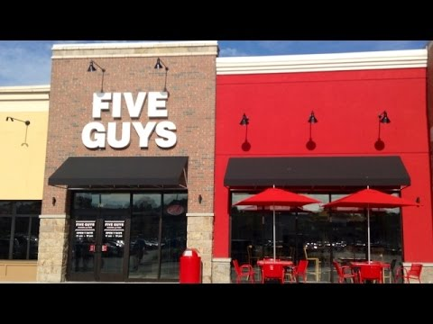Five Guys Is The Top Fast-Food Joint In The UK - Newsy