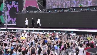 140701 EXO-K - Wolf & Growl & Thunder & Run & Overdose @ Hong Kong Dome Festival [1080P]