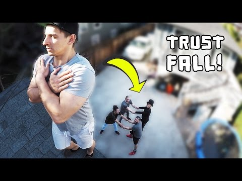Thumbnail: Trust Falls off the Roof w/ Vitaly!