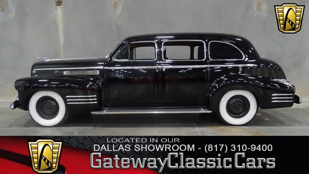 1941 Cadillac Series 75 Limoisine Stock #132 Gateway Classic Cars of ...