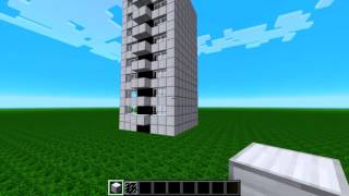 """First Person Minecraft Speed-Build. """"Modern Apartment"""" By Grondin"""