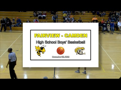 2016 1 26 FVHS SPORT Basketball Boys vs Camden