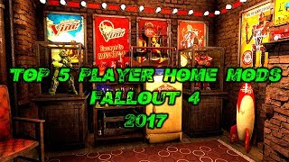 Best player home mods fallout 4 | Top 5 house mods Fo4