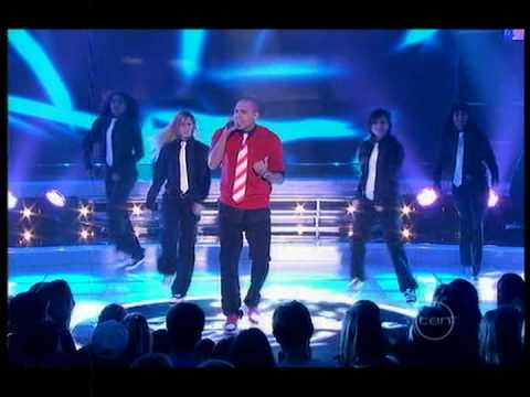 Chris Brown on Australian Idol