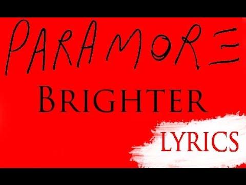 Paramore - Brighter Lyrics