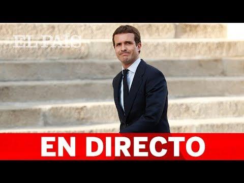 DIRECTO PP | PABLO CASADO preside la reunión de los grupos parlamentarios del Congreso y Senado