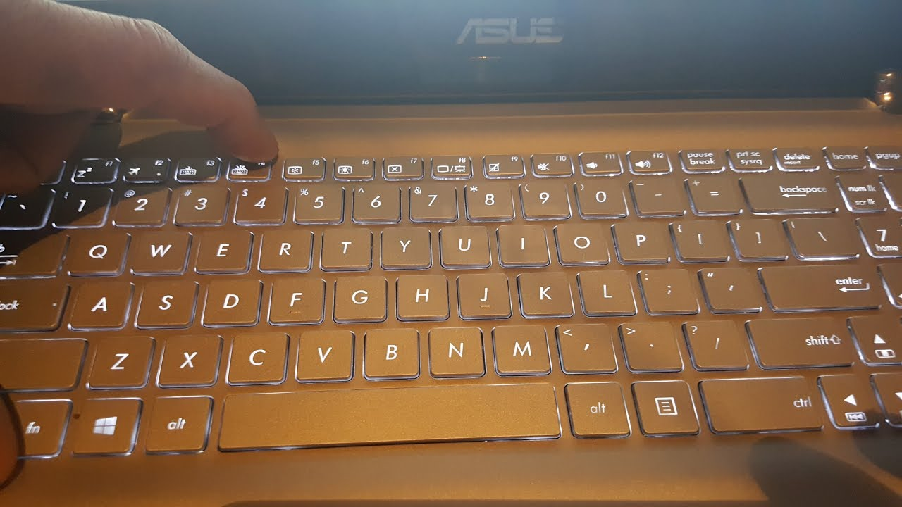 How To Turn On Off Keyboard Back Light And Screen