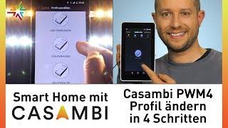 Casambi PMW4 Profil ändern in 4 Schritten - Video Tutorial