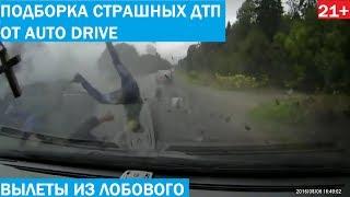 Подборка жёстких ДТП и аварий 2019 от Auto Drive. 21+
