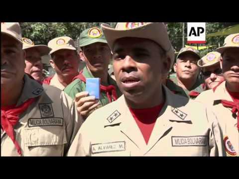 March to protest US Congress sanctions against Venezuelan officials