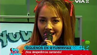 Jennifer Boldt canta el opening de Evangelion en Yu Win // VIA X