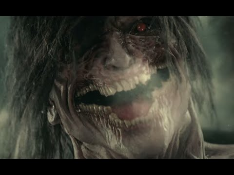 Attack On Titan Live Action Latest Trailer Titan Eren Youtube