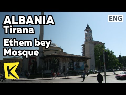 【K】Albania Travel-Tirana[알바니아 여행-티라나]에덤베이 사원/Ethem bey Mosque/Clock Tower/Observatory/Skanderbeg