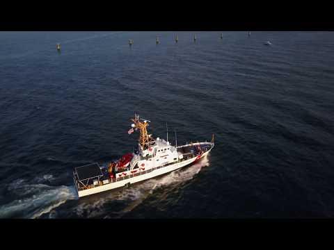 USCGC Key Largo - Mavic Pro Test