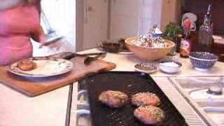Pt2- Danielles Savory Creations: Pineapple Terriaki Burgers