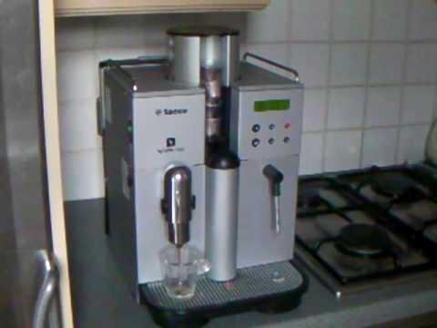 nespresso saeco coffee machine youtube. Black Bedroom Furniture Sets. Home Design Ideas