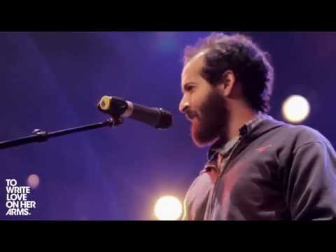 Anis Mojgani performs Shake the Dust at...
