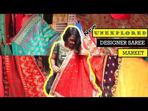 Fancy Saree   Cheapest Saree Market In Kolkata   Street Shopping In Kolkata