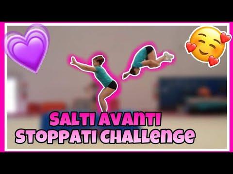 Salto Avanti stoppato lady con baby CHALLENGE ginnastica artistica CSB