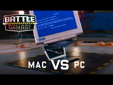 Mac vs PC Ultimate Showdown | WIRED's Battle Damage