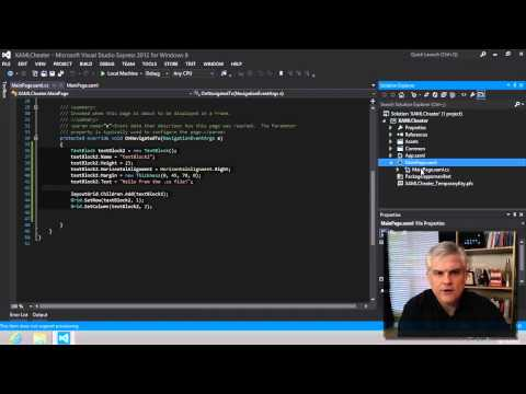 Windows 8 Apps  with C# - Part 3: Introduction to XAML