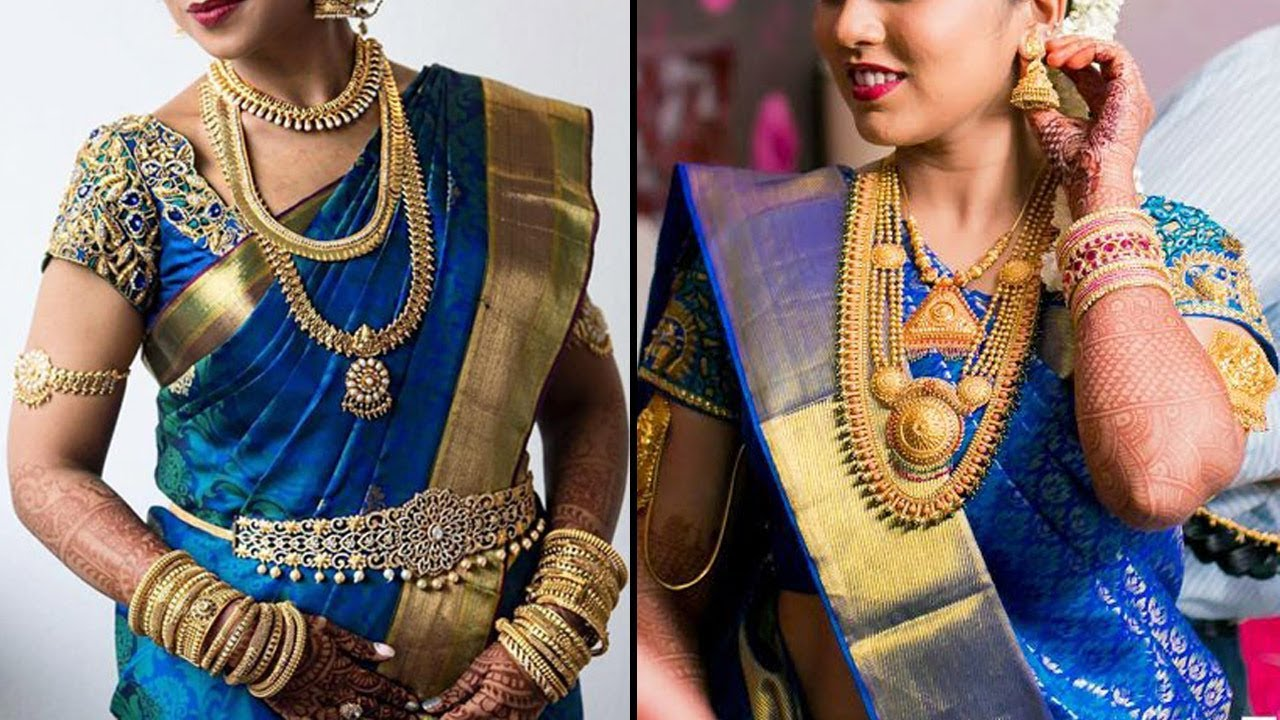 b74aa1b2c7 Sep 2019 Beautiful Kanchipuram Blue Color Sarees Colleciotn | Blue Colour  Pattu Saree Colletion