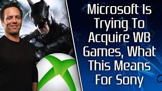 Xbox Is Trying To Acquire WB Games, What This Could Mean For PlayStation