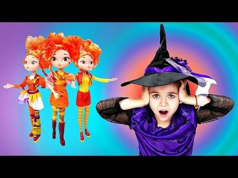 Сказочный патруль: Двойники Аленки. Волшебница - Ведьмочка Юлли - Мультики для девочек