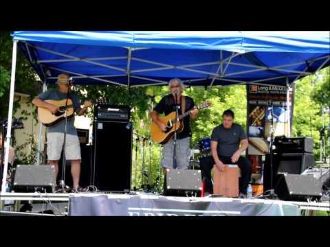 Blaine Burnie & Co @ the Markham Village Music Festival, June 20, 2015