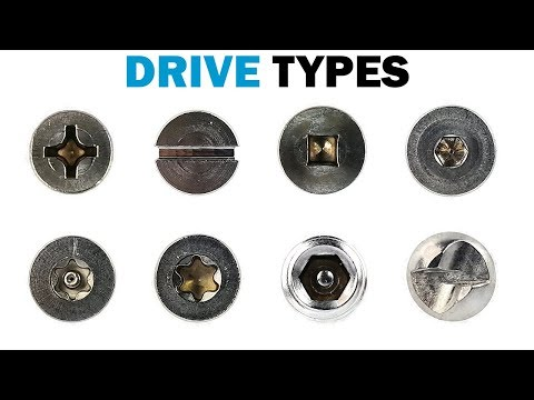 Types of Fastener Drives   Fasteners 101
