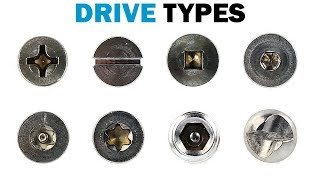 Types of Fastener Drives | Fasteners 101